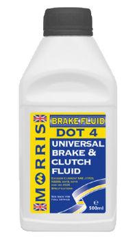 Brake Fluid   Morris Brake Fluid Dot 3+4