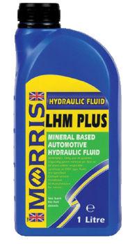 Brake Fluid   Morris Mineral Brake Fluid LHM Plus Green