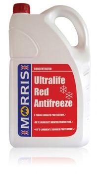Coolant   Morris Ultralife Red Anti Freeze