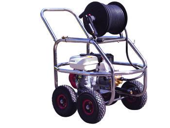 Kranzle PowerBlast P200 petrol powered pressure cleaner